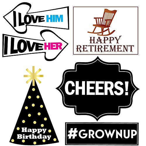 Retirement Photo Props - Retirement Party Supplies, Gifts and Decorations by Sterling James Company