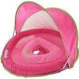 SwimSchool Sunshade Fabric BabyBoat in Pink by Aqua Leisure