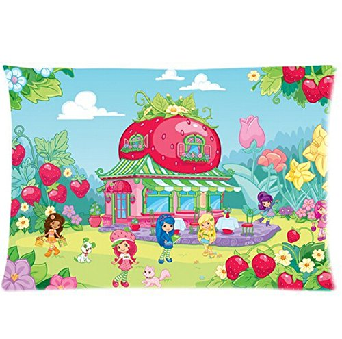 strawberry shortcake sheet set - 5