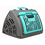 Collapsible Cat Carrier Plastic Cat & Dog Cage Portable Pet Products