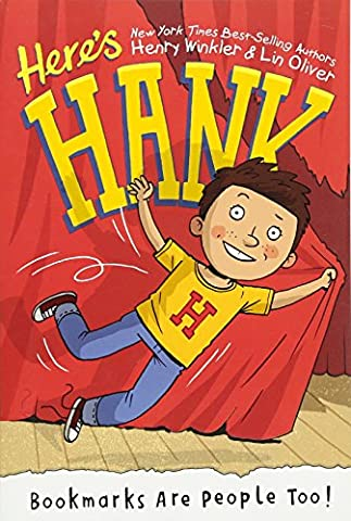 Bookmarks Are People Too! #1 (Here's Hank) (Garrett Stage 2)