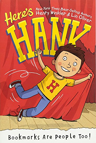 Bookmarks Are People Too! #1 (Here's Hank)