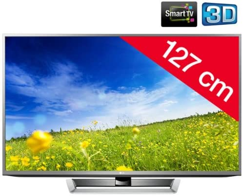 LG – Televisor 3D de Plasma 50PM670S HD TV 1080p, 50 Pulgadas (127 cm) 16/9, 600 Hz, DVB-T HD, 3D Ready, Ethernet, HDMI X4, USB 2.0 x2, WiFi Ready + 2 años de garantía: Amazon.es: Electrónica