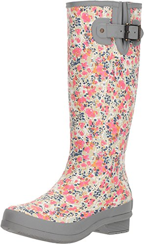 Chooka Women's Julia Rain Boots Gray 10 M US M ()