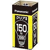 パナソニック クリヤー球 【品番】(P)L100V150W