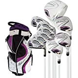 "Believe Ladies Complete Golf Set - Purple - Right-handed (Ladies Petite (-1""))"