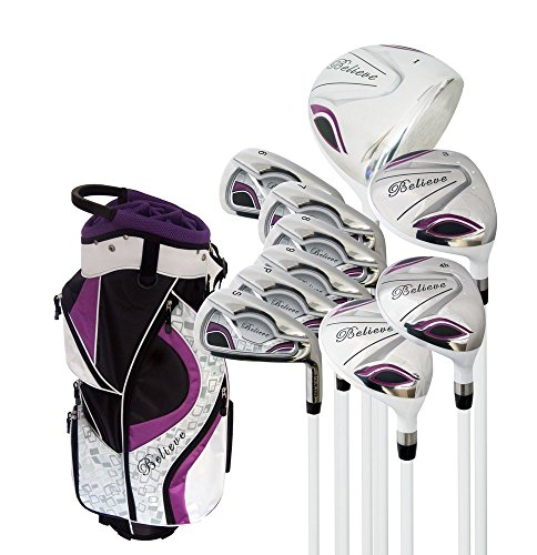 ete Golf Set - Purple - Right-handed (Ladies Petite (-1