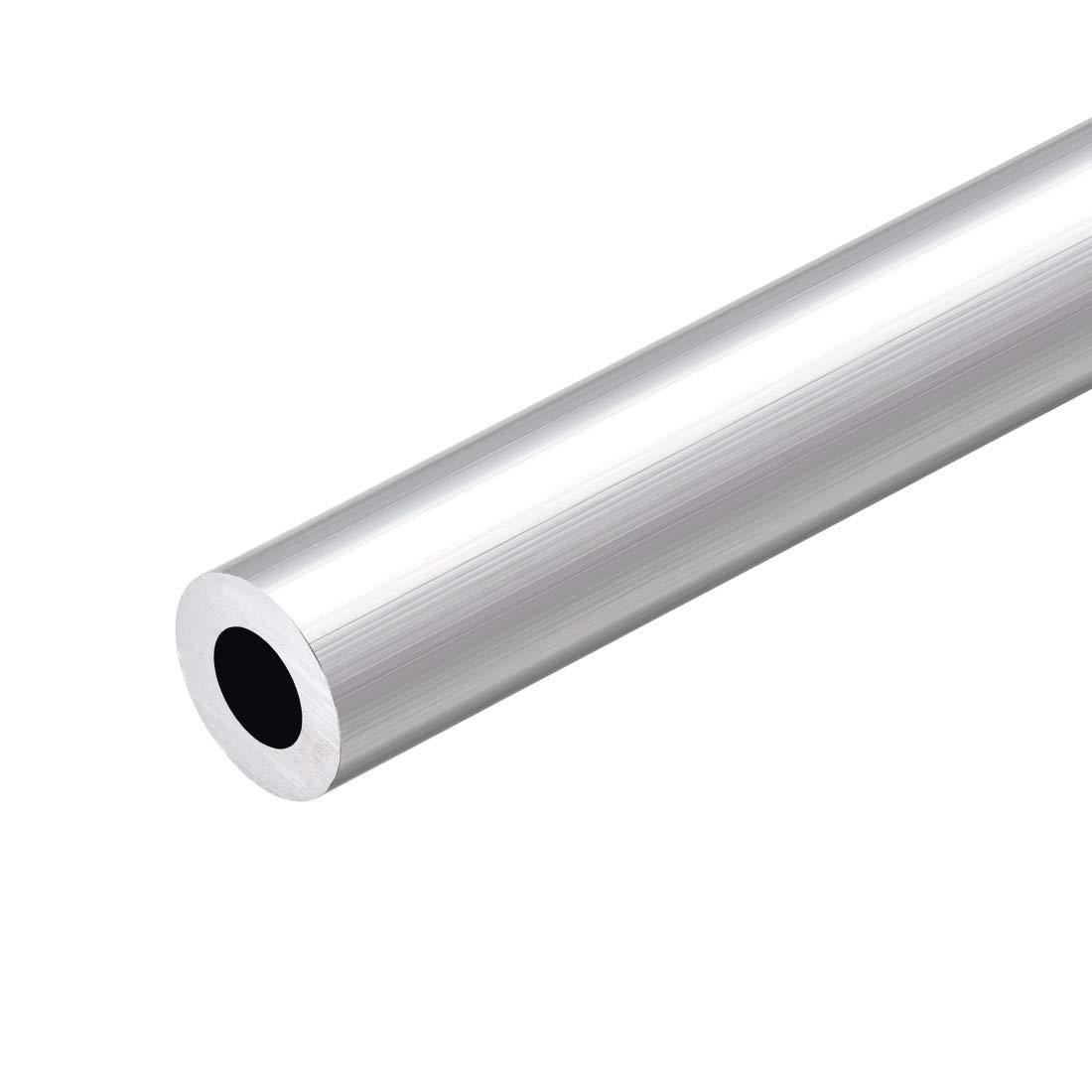 uxcell 6063 Aluminum Round Tube 300mm Length 19mm OD 9mm Inner Dia Seamless Aluminum Straight Tubing 2 Pcs