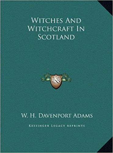 Book Witches and Witchcraft in Scotland