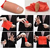Rubber Magic Thumb Tip Trick Close Up Vanish Appearing Finger Trick Props Tool - One item with design and color maybe vary