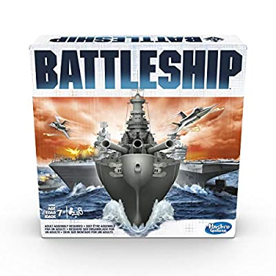 Battleship Classic Board Game Strategy Game Ages 7 and Up For 2 Players: Toys & Games