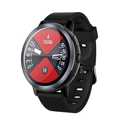 Amazon.com: Smart Phone Watch Business Heart Rate Step IP67 ...