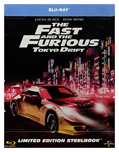 Firm and Furious 3: Tokyo Drift Steelbook [Blu-Ray] (English audio. English subtitles)