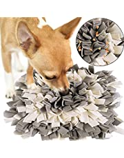 BLEVET Pet Training Snuffling Mat Dog Mat Slow Feeding Mat for Dogs Training Feeding Foraging Skill Puzzle Toys AU-IE075