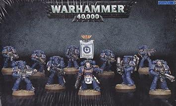 SPACE MARINE TACTICAL SQUAD Warhammer 40.000 40K Miniature da Dipingere Gam...