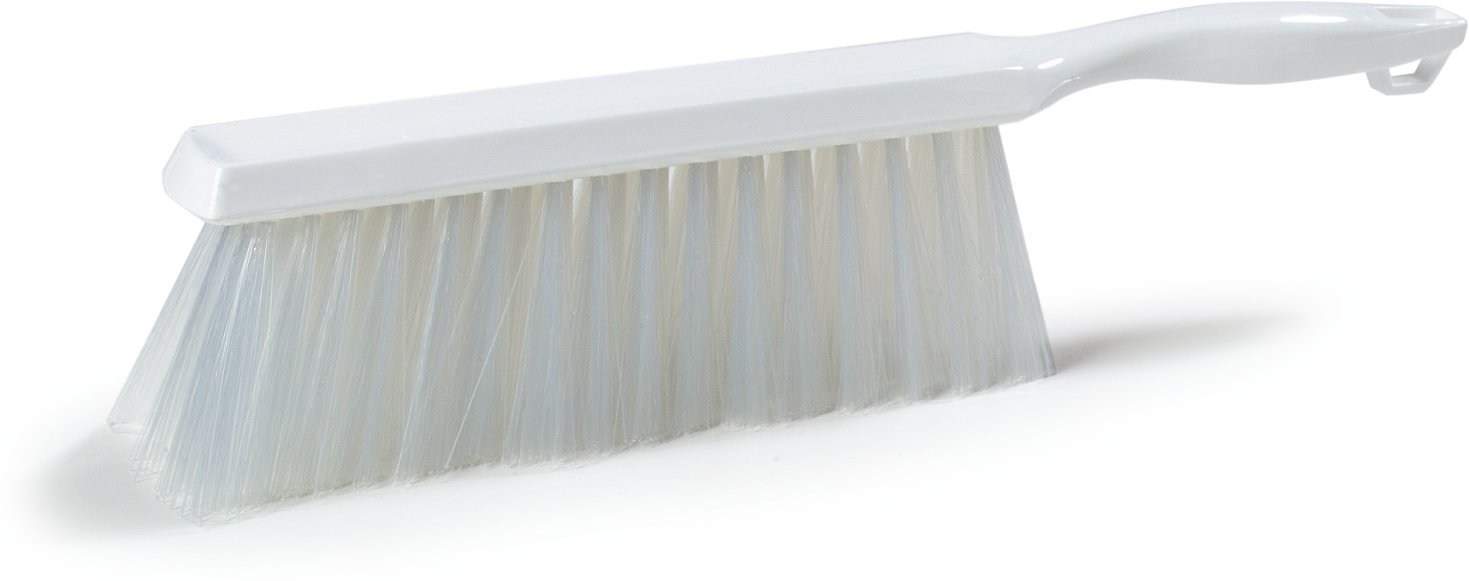 Carlisle 4048002 Commercial Counter Duster, 8'' Length, White (Pack of 12)