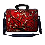 Meffort Inc 17 17.3 inch Neoprene Laptop Bag Sleeve with Extra Side Pocket, ...