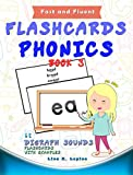 Phonics Flashcards (Digraph Sounds) Part2: 68 flash cards with examples (Fast and Fluent: Flashcards Book 3)