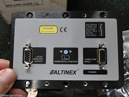 Altinex VA6854WM 3-Gang Wall Furniture Mount Interface from ALTINEX