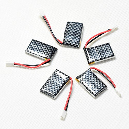 ECHOBBY 3.7V 200mAh 20C LiPO Battery Walkera Plug for RC micro aircraft Lipolymer power by ECHOBBY (Image #5)