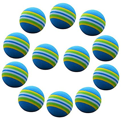WINOMO 20 piezas Golf práctica pelotas de espuma esponja formación ...