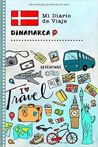 Dinamarca Mi Diario de Viaje: Libro de Registro de Viajes ...