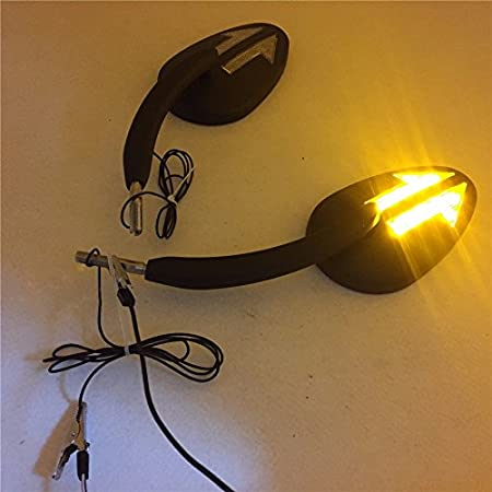 excepte VRSCF,XG,XL1200X,FXCWC,2014-Later Touring HK Motorcycle Chrome Integrated Arrows LED Turn Signals Side Mirrors For Fits 1997-Later Harley Davidson Model Fits2014-later Road King Models