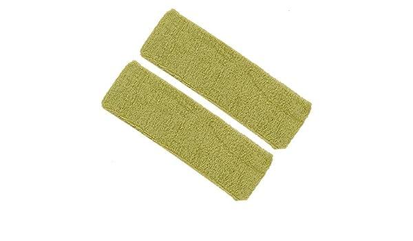 Amazon.com: Bandas Para la cabeza de Pelo eDealMax deportes al aire Libre lavable elástico diadema 6.3 pulgadas de Largo 2pcs luz Verde: Health & Personal ...
