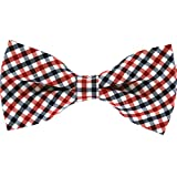 Tok Tok Designs® Handmade Bow Ties for Dogs (B133, 100% Cotton)