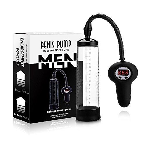 Dyalis 8.85 inch Mens Pump, Performance Enhancers Electric Vacuum Pump, Vacuum Air Pump Male Extender, Enhancement Exercise Men's Toys