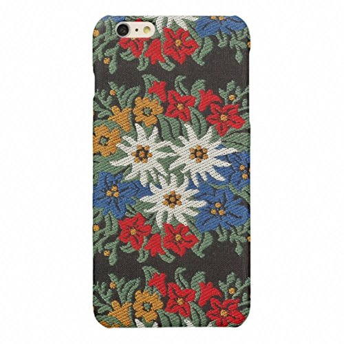 iPhone 6 Plus Case,iPhone 6S Plus Case,SlimProtective Case Fit for Apple iPhone 6 Plus/6S Plus5.5 inch-Edelweiss Swiss Alpine Flower Glossy