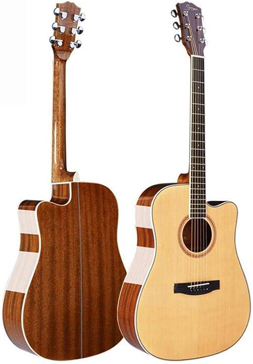 Hjyi Guitarra acústica, Nube de Guitarra acústica, Chapa de Abeto ...
