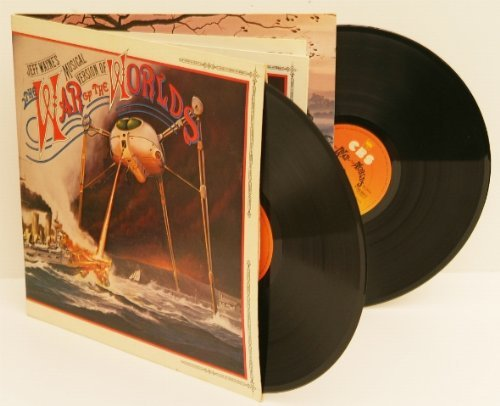 JEFF WAYNE'S The War of the Worlds. Great copy, very early UK pressing 1978 o...