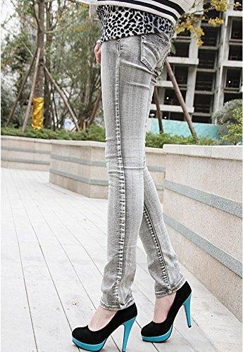 Plataforma zapatos azules tonos corte tacón bombas Ladies de de dos aguja tacones de Nonbrand de HwrqHCxTF