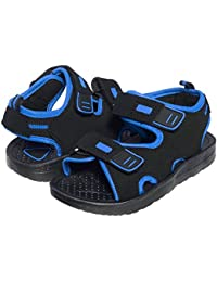Boys Double Velcro Adjustable Strap Lightweight Sandals (See More Colors and Sizes)