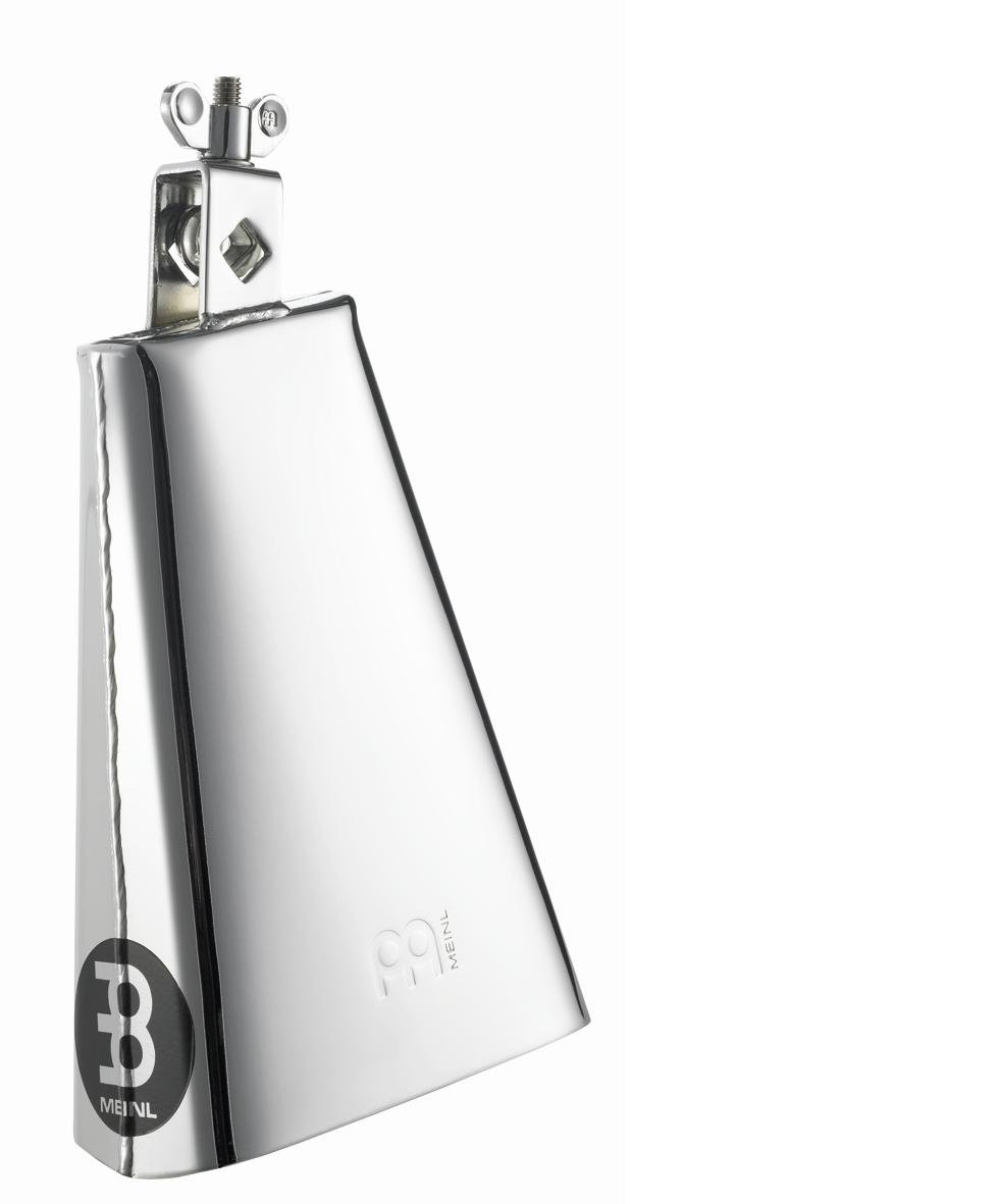 Meinl Percussion STB80B-CH 8-Inch Big Mouth Steel Cowbell, Chrome Finish by Meinl Percussion