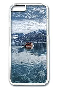Arctic Sea, Eastern Greenland Polycarbonate Hard Case Cover for iphone 6 plus Transparent