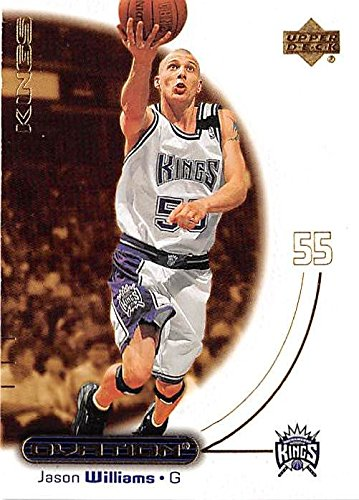 5e02262a2 Image Unavailable. Image not available for. Color  Jason Williams basketball  card (Sacramento Kings White ...