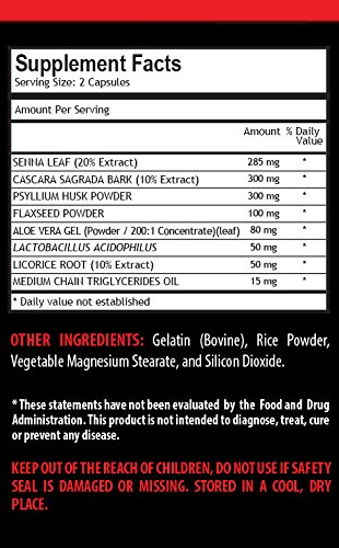 fat loss pills for men - EXTREME 15-DAY CLEANSE - 1180MG FORMULA - flax seed pills - 2 Bottles (60 Capsules) by VIP VITAMINS (Image #2)
