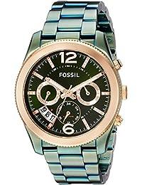 Women's 'Perfect Boyfriend' Quartz Stainless Steel Casual Watch, Color:Green (Model: ES4328)