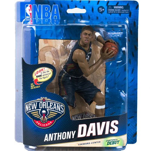 McFarlane Sportspicks: NBA Series 24 Anthony Davis 6 Inch Gold Variation Action Figure by Unknown