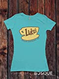 Gilmore Girls Luke's Diner inspired T-Shirt / Adult T-shirt Top Tee Shirt design - Ink Printed