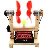 Aerogenerador de bricolaje Experimento científico Seguridad de los estudiantes Fácil de usar Sistema de generación de