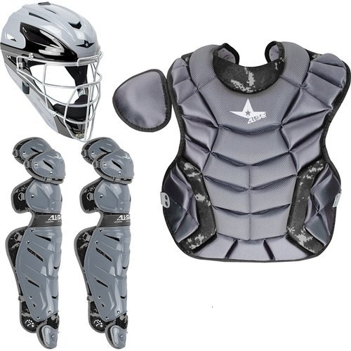 All Star System Seven Youth Camo Pro Catcher's Kit