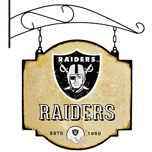 Winning Streak NFL Oakland Raiders Tavern Sign
