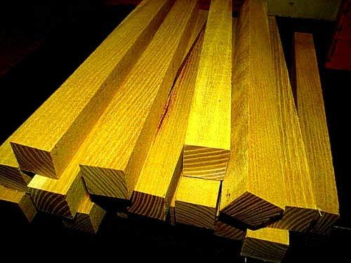 (Osage Orange Kiln Dried Lathe Turning Exotic Wood Bowl Blanks Blocks, 1