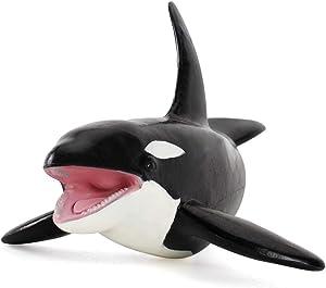 Fantarea Sea Animal Figures Model Killer Whales Kid Party Favors Toys Figurine Model Educational Decoration Toy for Kid Children