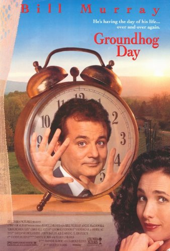 Image result for groundhog day poster