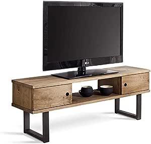 HOGAR24 ES Mesa televisión, Mueble TV Salón Diseño Industrial ...