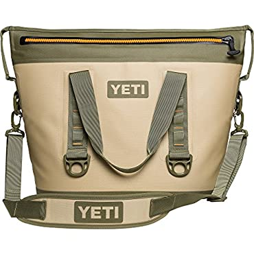 YETI Hopper Two 30 Cooler (Field Tan / Blaze Orange)